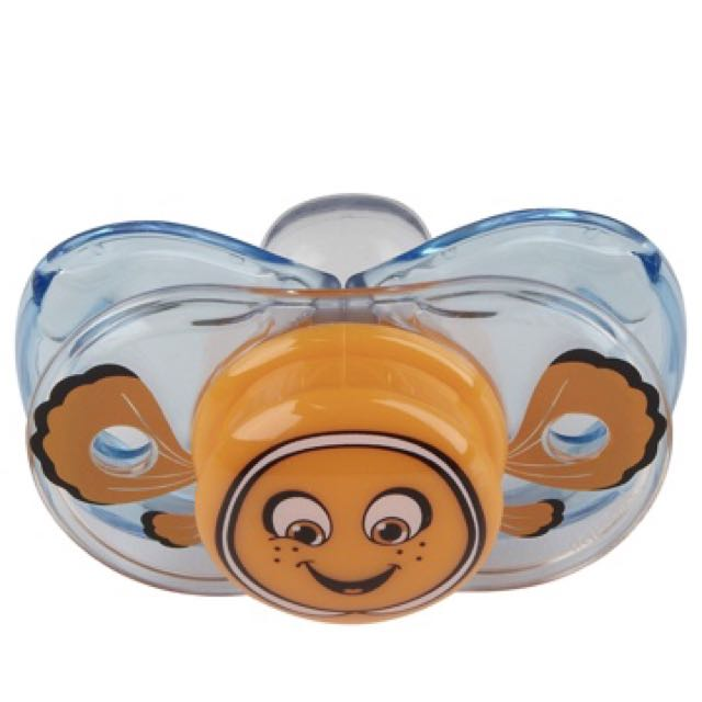 RAZBABY KEEP IT CLEAN PACIFIER- Finley the clown fish
