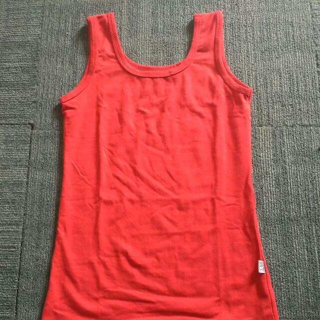 Red Tank Top
