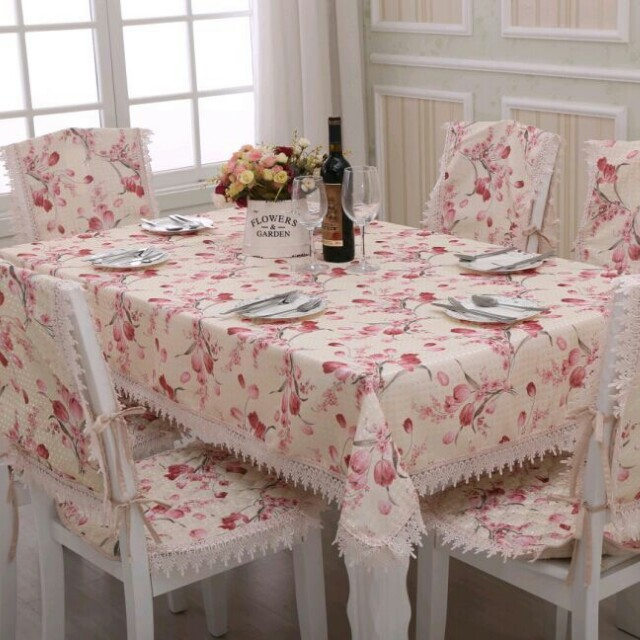 Set Alas Meja Kerusi Patchwork Corak English Home Furniture Décor On Carou