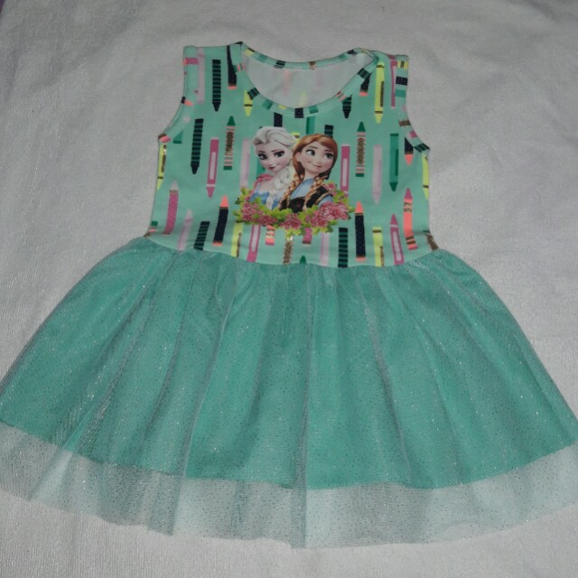 SMALL Kids Tutu Dress