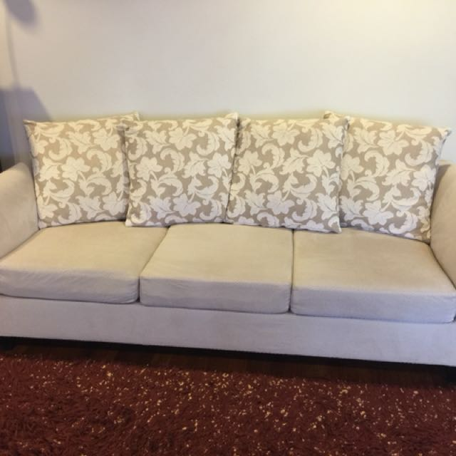 Sofa & Chase/footstool