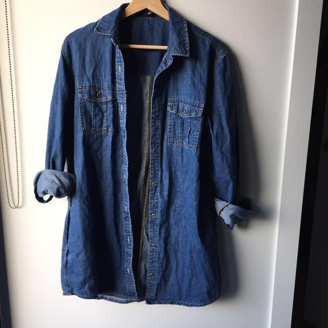 Sportsgirl jean shirts size 10