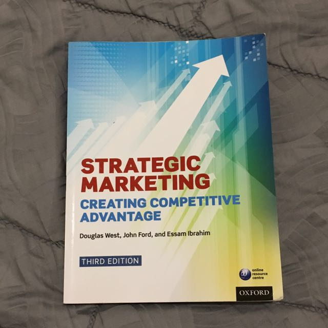 Strategic Marketing Textbook