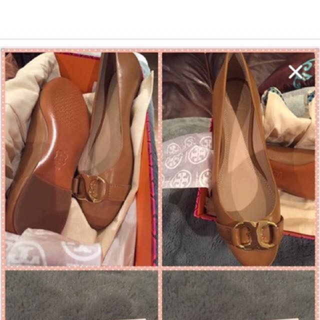 Tory Burch leather flats brand new size 8