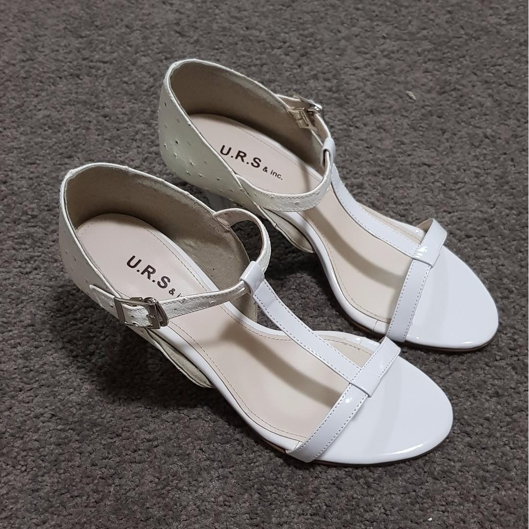 U.R.S - White Sandals