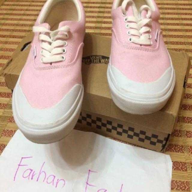 fe010f9310 Vans Halfmoon Era Japan Pink