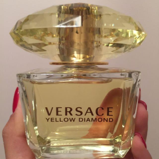 Versace yellow diamond edt 90ml gift set