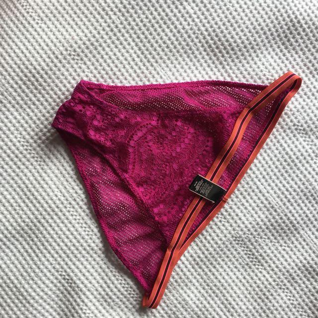 Victoria's Secret Purple Mesh