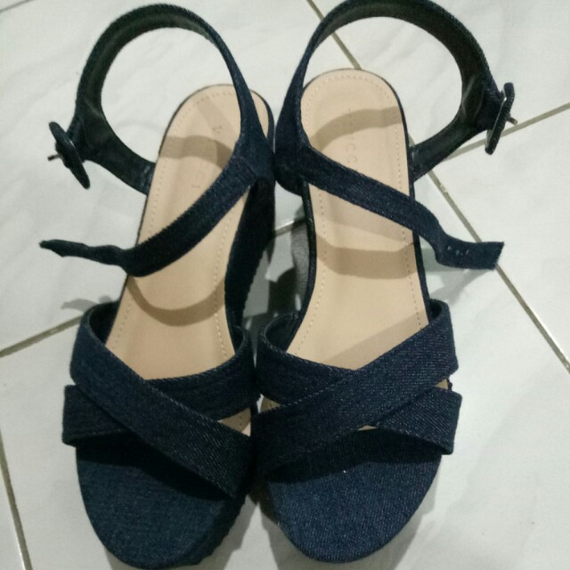 Wedges jeans blue VNC