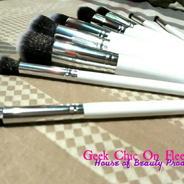 White Stippling Brushes (SET)