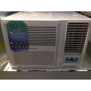 Kolin Window Type Aircon Inverter and Non Inverter