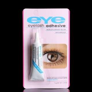 EYE Waterproof Adhesive Eye Lash Glue Use For False Eyelashes [ Clear White ]