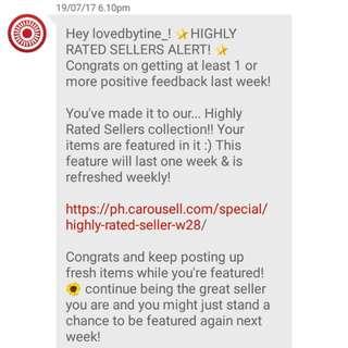 Thanks Carousell!!💋