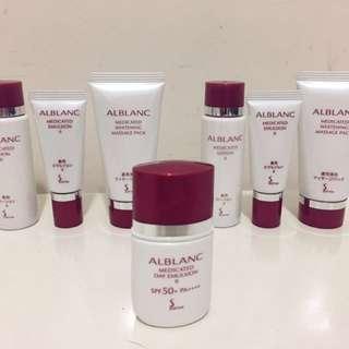 Sofina Alblanc skincare set