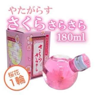 日本金箔櫻花酒