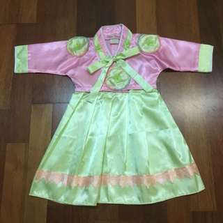 Korean dress for baby. Size 1.