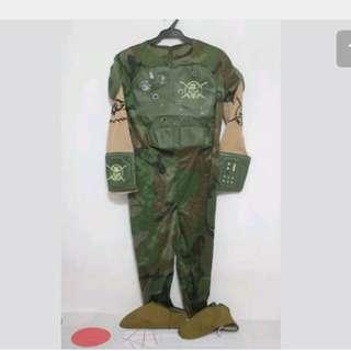 Camouflage Costume