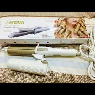 Nova 2 in 1 Hair Curler & Straightener
