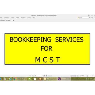 ACCOUNTING SERVICES FOR MCST