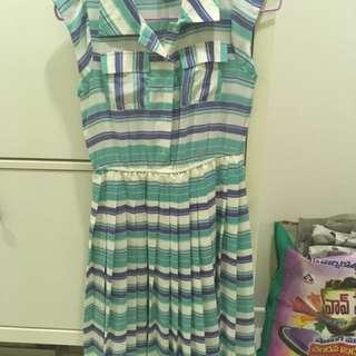Geometry Print Dress