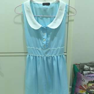 Baby Blue Doll Dress