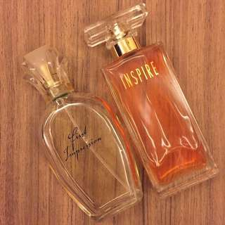 france perfume (first impression & inspire