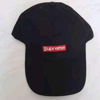 Korea Style - Supreme Cap in Black