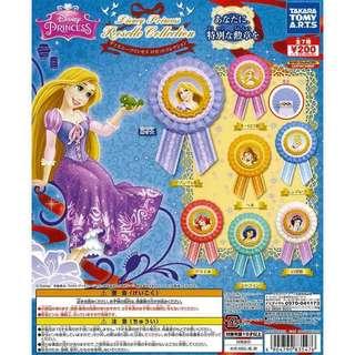 迪士尼公主 Disney Princess 扭蛋 仙度瑞拉 灰姑娘徽章