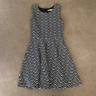 BNWOT TEMT zebra pattern dress