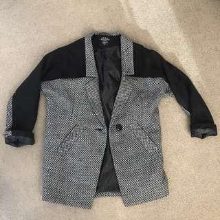 BNWOT Black Friday coat size 8