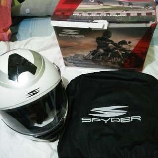 Spyder full face helmet
