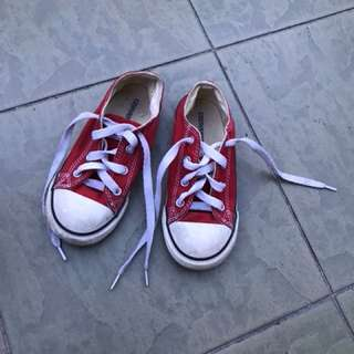 Converse all star snickers