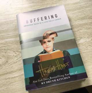 Signed Buffering book