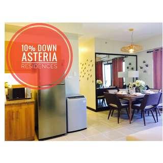 Asteria Residences Dmci 2 bedroom condo in Paranaque Manila