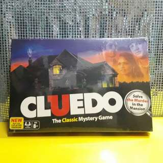 Cluedo Classic Mystery Game BRAND NEW SEALED
