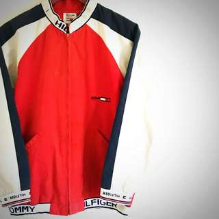 Vintage Tommy Hilfiger bomber ~ naughty 90s vibes