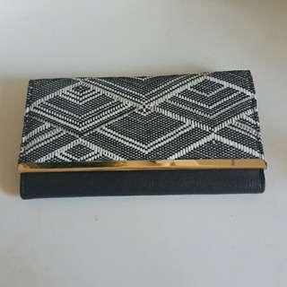 Beaded formal wallet