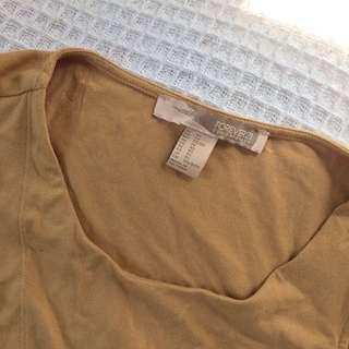 Forever 21 wrap sleeveless top
