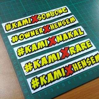 Sticker #arai#shoei#agv