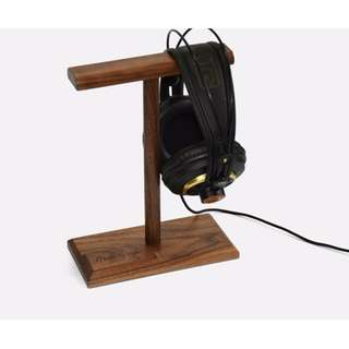 Real Wood Headphone Stand - T type