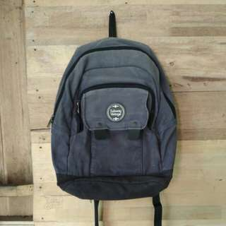 Backpack / Ransel Navy Subway Vintage