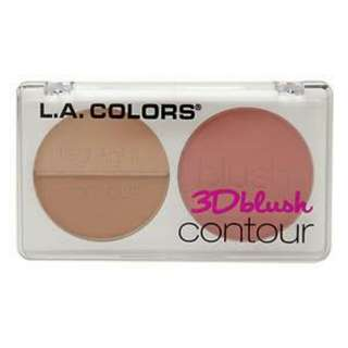 3D blush and contour L.A color