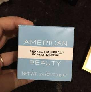 American beauty loose powder
