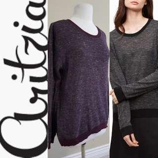 ARITZIA: WILFRED Berri T-Shirt/Sweater, EUC, US Medium, Colour No Longer Sold
