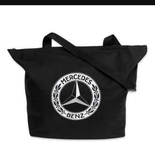Mercedes Benz Collection Classic Selection Shopping Bag  (Black)