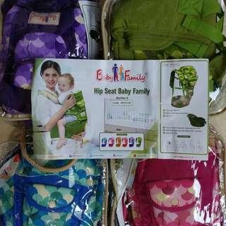 Gendongan Depan Baby Bayi HIPSEAT SCOT BABY FAMILY MOMS BABY Special edition SNI .