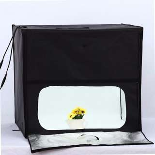 LED Softbox Light Box Product Photography Tent