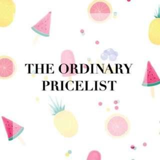 The Ordinary [Pre-Order]