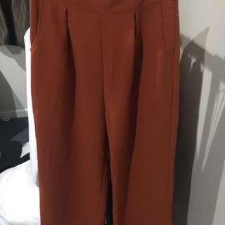 Culotte Style Pants Size 10/small #girlboss