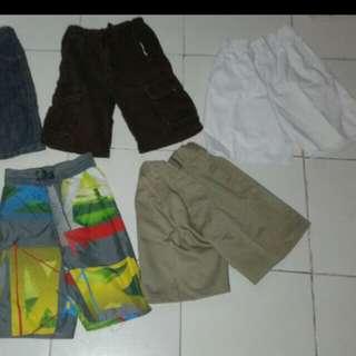 assorted boy shorts